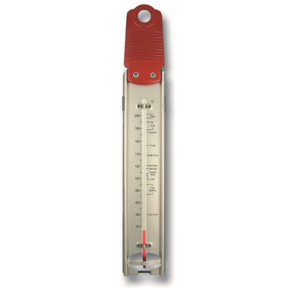 Stainless Steel Cooking Thermometer 250mm Cooking Thermometer Stainless Steel Thermometer