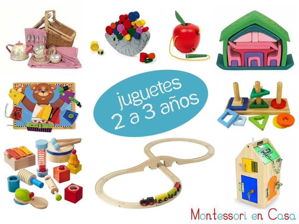 Juguetes Por Edad 2 A 3 Anos Toys By Age 2 To 3 Juegos Ideas