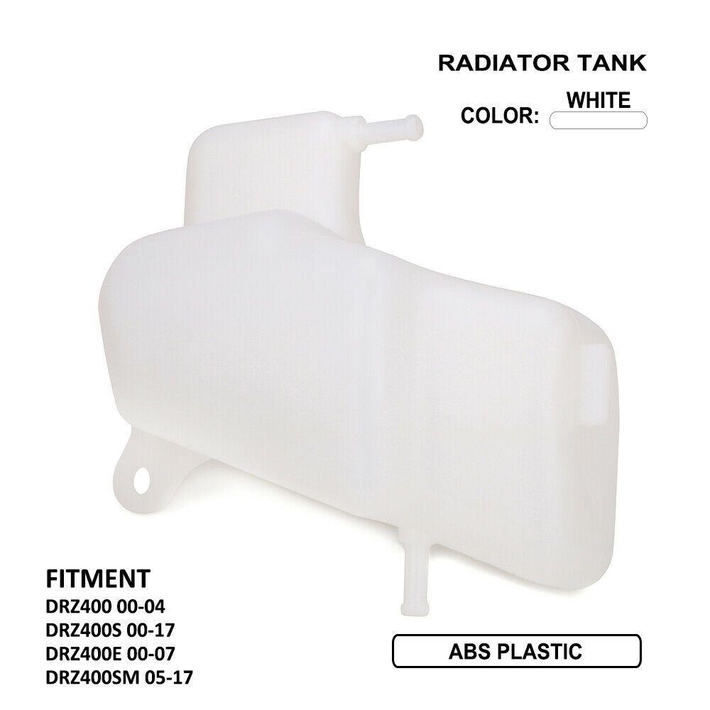 Coolant Radiator Tank For Suzuki DRZ400 DRZ400S DRZ400E DRZ400SM Motorcycle