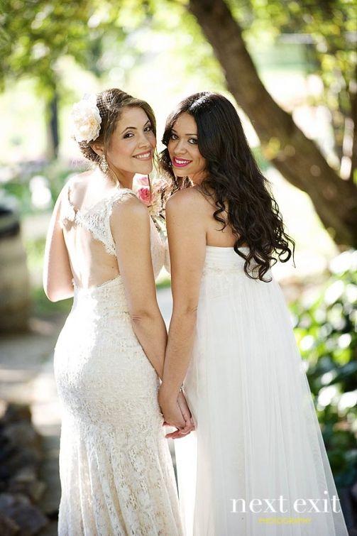 Pictures of lesbian brides