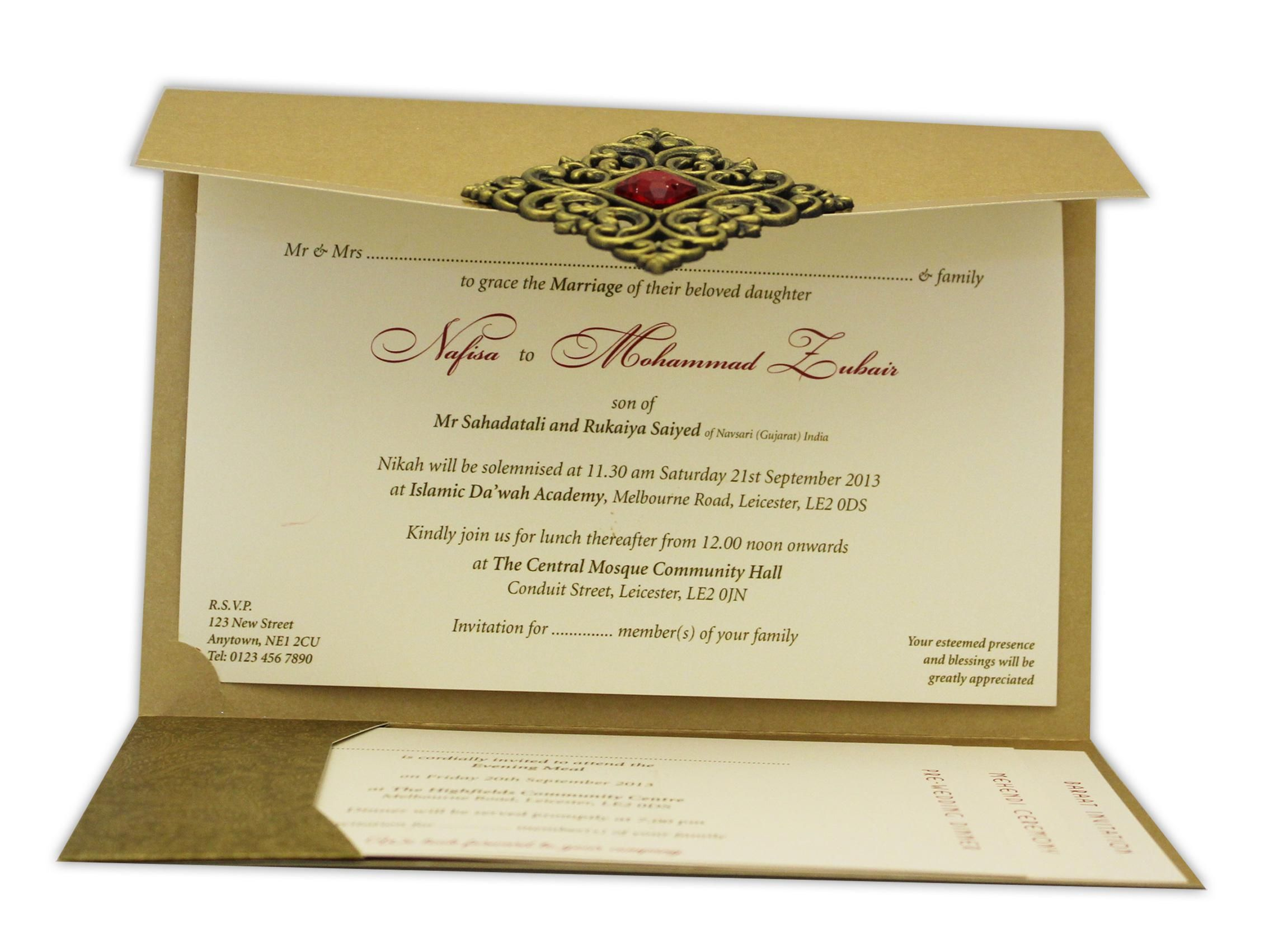 Indian Wedding Invitations Leicester Uk | Wedding