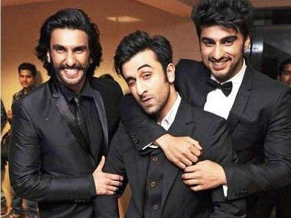 Ranveer Singh, Ranbir Kapoor & Arjun Kapoor