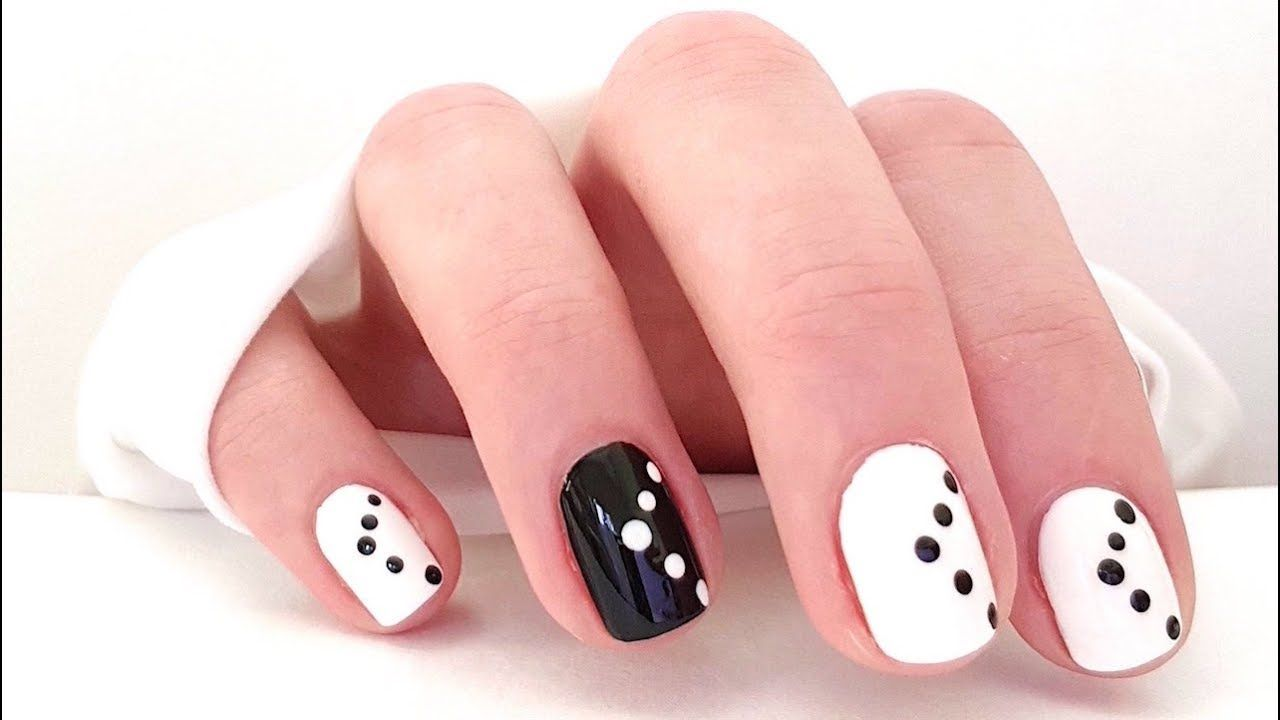 Nail Art Without Tools Easy Nail Art Designs Nail Art Without Using To Simple Nail Art Designs Nail Art For Beginners Marble Nail Art