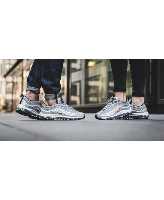 5b85a10587bfa4 Nike Air Max 97 Silver Trainers provide us the best fits and the best  styles