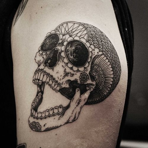 Sugarskull Tatuajes Craneos Decorados Y Tatuajes De Calaveras