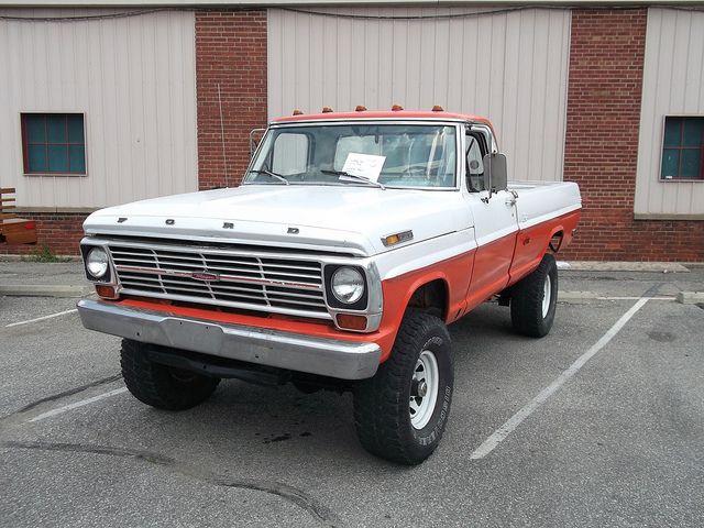 1969 Ford F250 Ranger Truck Trucks Classic Ford Trucks Ford