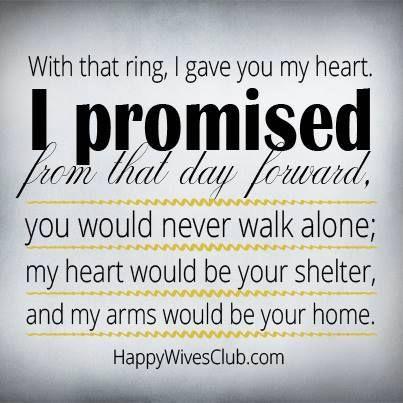 I promise....