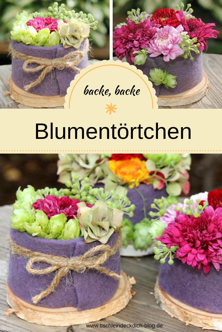 Photo of Dette er fikse nr. 16 – høstlige blomsterterter – borddekning selv