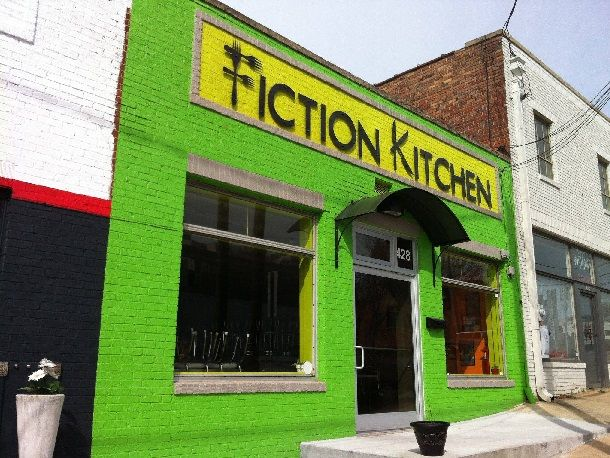 Fiction Kitchen Raleigh North Carolina outside
