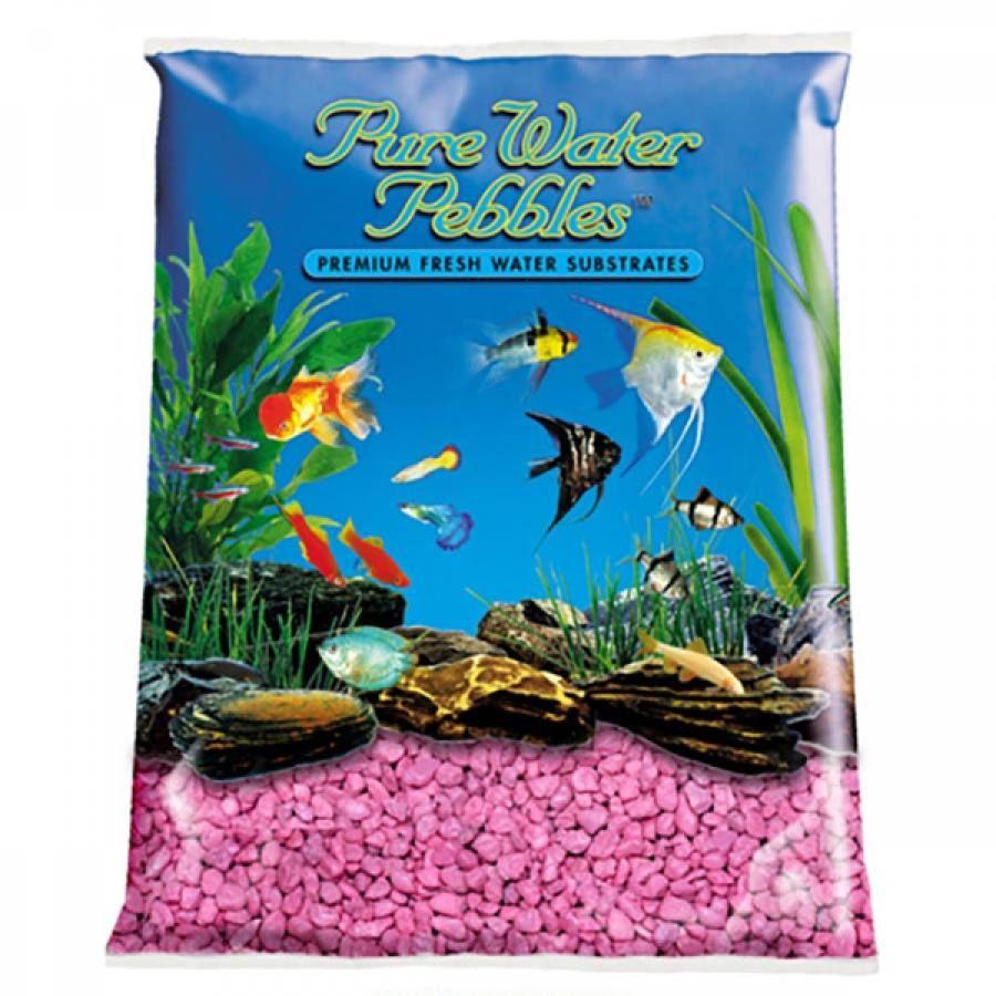 Herbivorous freshwater aquarium fish - 5lb Pure Water Pebbles Aquarium Gravel Primrose Pink Is A Natural Freshwater Aquarium Gravel Substrate