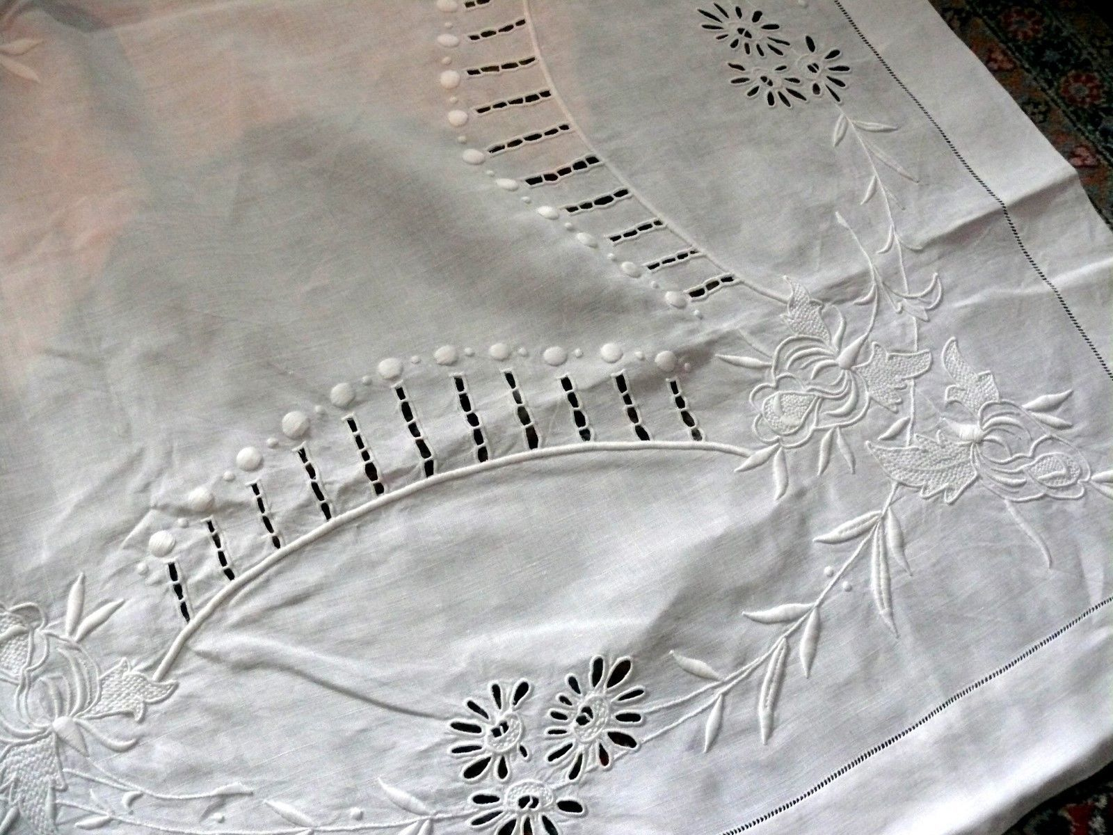 Detail - embroidered cloth