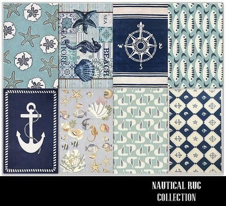 linasometimes 39 nautical rug collection the sims 3 pinterest nautical rugs nautical dining. Black Bedroom Furniture Sets. Home Design Ideas