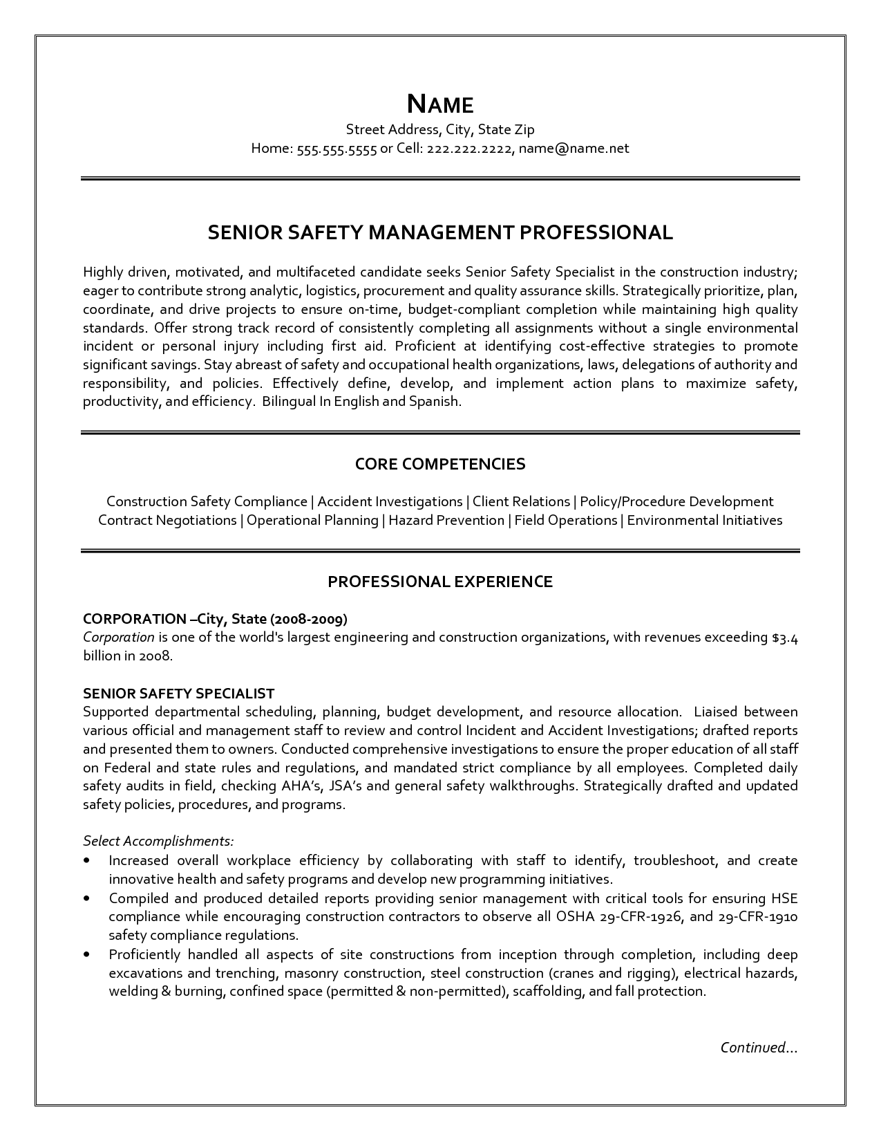 Supply Chain Management Resume Senior Logistic Management Resume  Resume Of A Senior Content