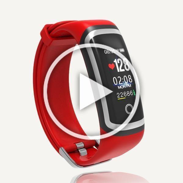 Blood Pressure Waterproof Fitness Tracker Heart Rate Smart Bracelet for IOS Andr... #blood #fitness...