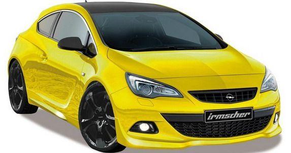 Irmscher Opel Astra Gtc Sport 45 Car News