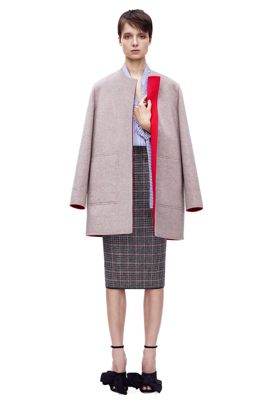 Victoria Beckham   #PreAW15 RTW   Reversible Coat
