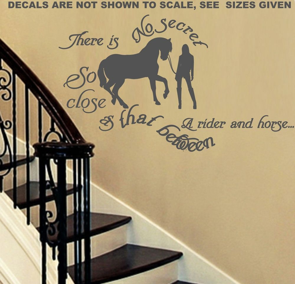 THERE IS NO SECRET TEEN GIRL QUOTE WALL ART STICKER XLRG VINYL DECAL ...