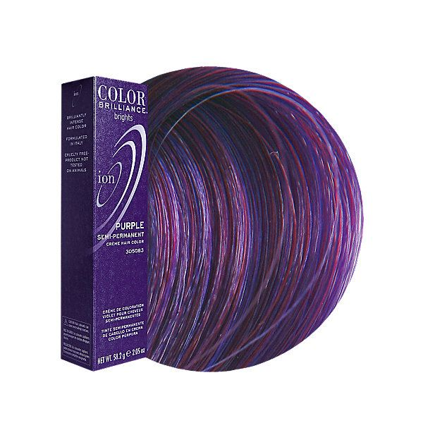 Purple Semi Permanent Hair Color Products I Love Ion Color