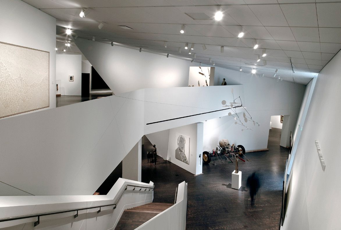 Denver art museum interior credit studio daniel for Daniel libeskind architectural style