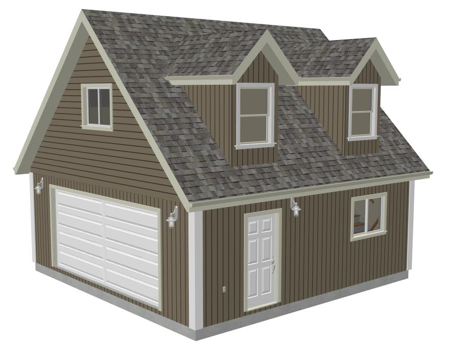 24x24 Garage Plans With Loft 3 24 X 24 Garage Plans Garage Plans With Loft Garage Plans Garage Loft