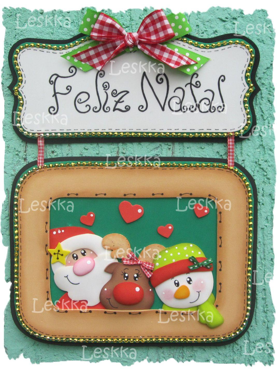 Pin de pri roveri en moldes pinterest navidad goma - Manualidades navidad goma eva ...