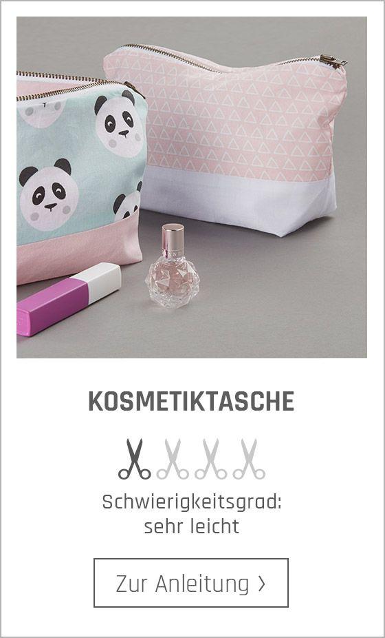 Photo of Kosmetiktasche für Anfänger nähen – online kaufen