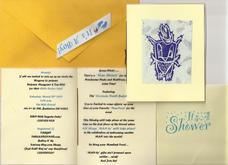 Custom Handmade Invitations by KoliopeeDesigns on Etsy, $1.25