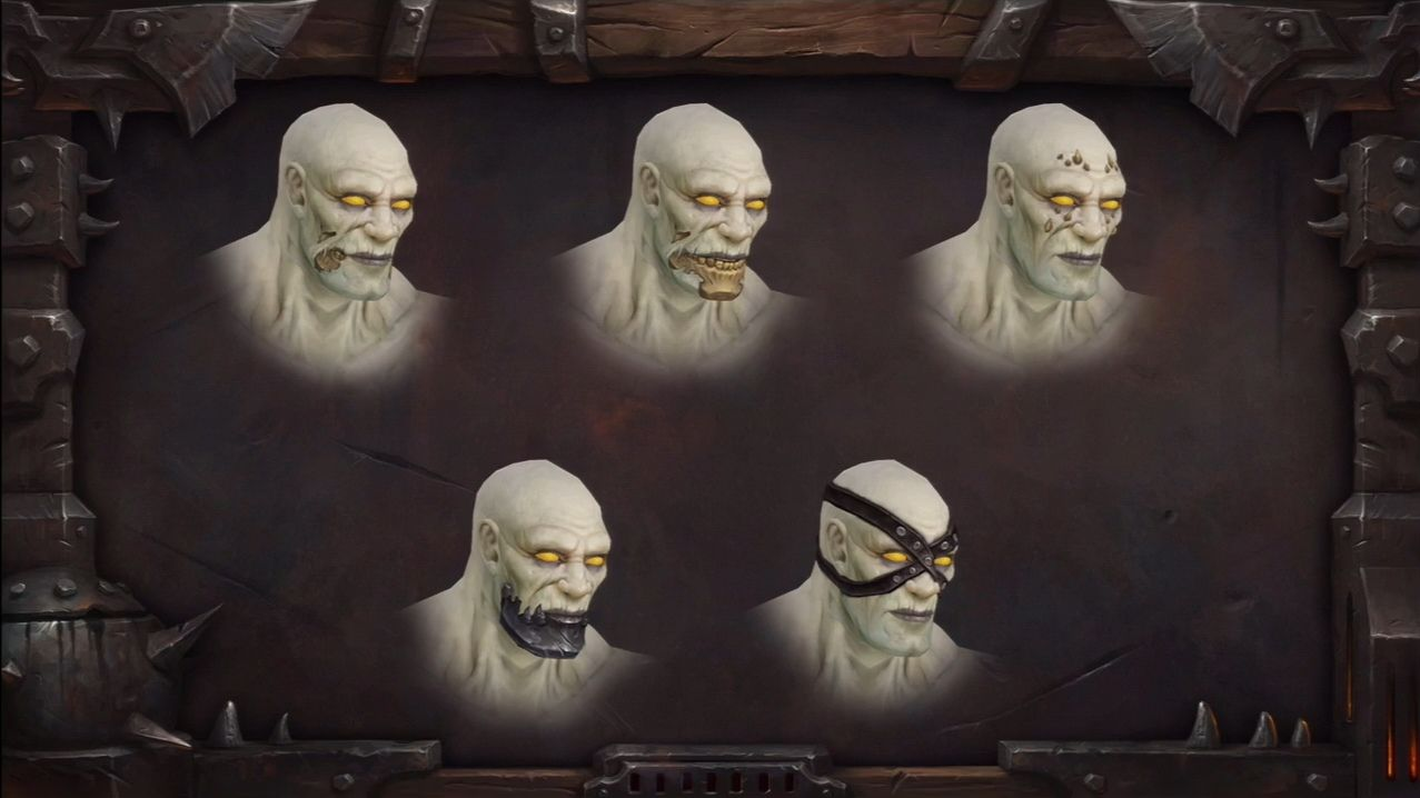 WoW Undead Male 3d