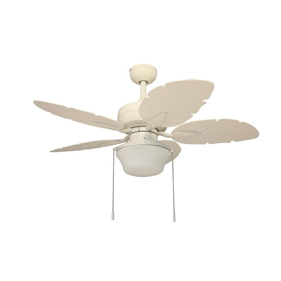 Litex Waveport 44 In White Led Indoor Outdoor Ceiling Fan With Light Kit 5 Blade Lowes Com Outdoor Ceiling Fans Ceiling Fan With Light Fan Light