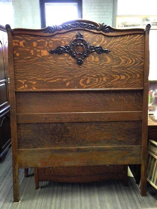 Bedroom Furniture High Resolution: Antique Bedroom Suite/Set Quarter-Sawn Tiger Oak Dresser
