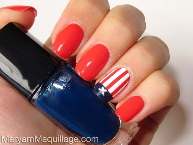 ! Maryam Maquillage !: Americana Nail Art for the Fourth! #prom