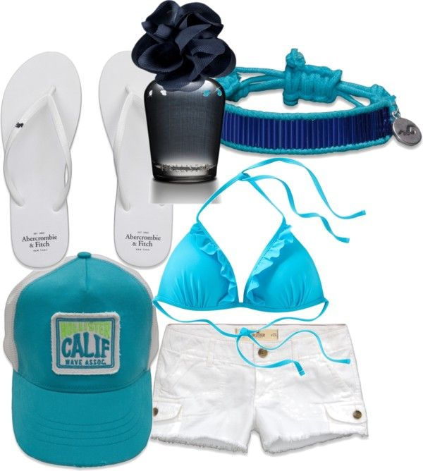 """Hollister SnapBack Obsession"" by chicace-220 on Polyvore"