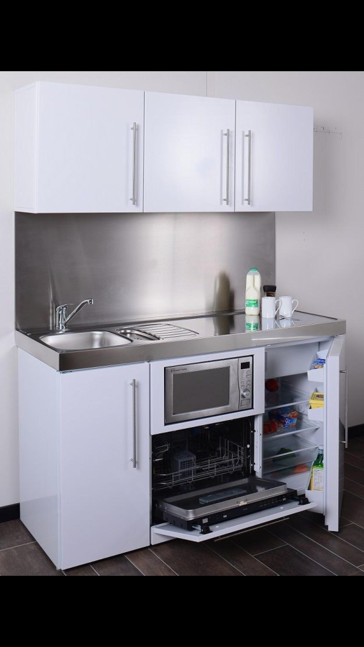 Pin By Leti On Kitchen Small Apartment Kitchen Interior Design