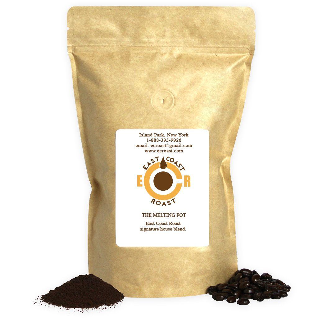 The Melting Pot East Coast Roast Roast Single Origin Coffee Fruity Flavors