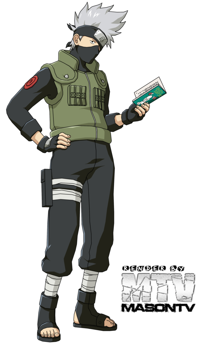 Kakashi Hatake (はたけカカシ, Hatake Kakashi) is a shinobi of Konohagakure. He received a Sharingan from his former team-mate, Obito Uchiha, when he was younger, leading him to fame as Copy Ninja Kakashi. His prodigious talent, skill, and Sharingan prowess have made him one of the village's most capable ninja, and as such, highly recognised throughout the ninja world. He is the leader of team 7.