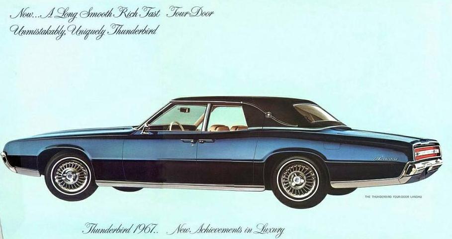 1967 Ford Thunderbird 4-Door Landau   Ford Thunderbird: 1966 - 1976