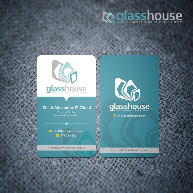 New business card wanted for glass house by va studio business new business card wanted for glass house by va studio colourmoves