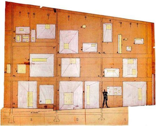 Hiddenarchitecture Notre Dame Du Haut Le Corbusier Ronchamp 1954 Corbusier Architecture Le Corbusier Le Corbusier Architecture