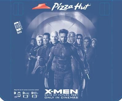 Blipp your #PizzaHut delivery box for legendary #XMEN Days Of Future Past' content + #PRIZES ...