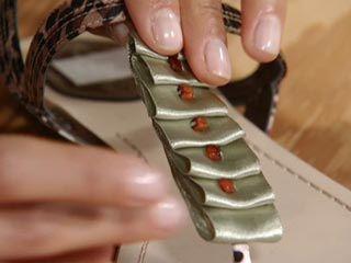Manualidades y Artesanías | Sandalias con piedras | Utilisima.com