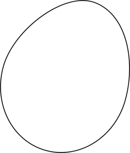 Black And White Egg Clip Art Black And White Egg Image White Eggs Clipart Black And White Eggs Image