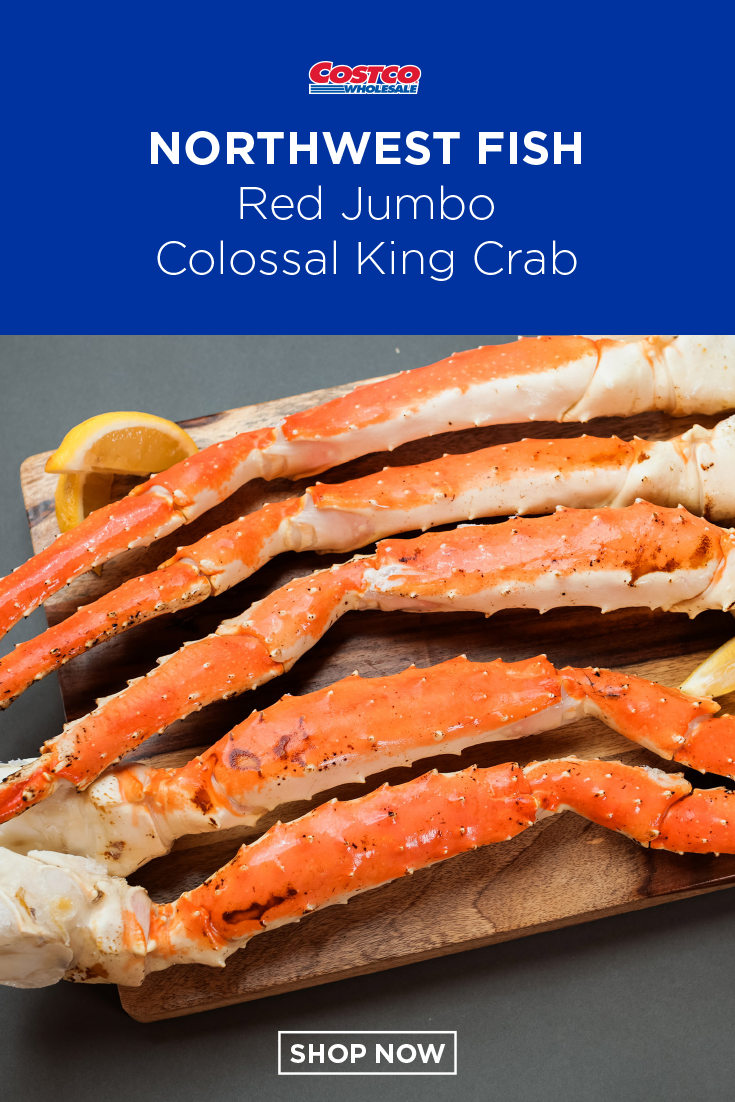 Northwest Fish Wild Red Jumbo Colossal King Crab 4 7 Count 10 Lbs King Crab King Crab Legs Cooking
