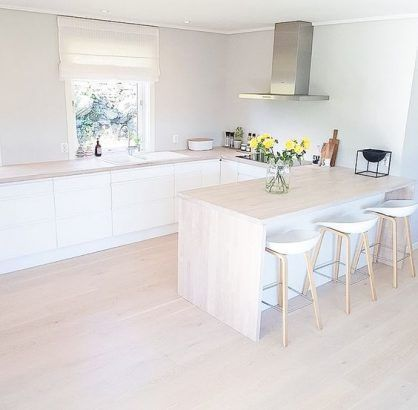 Parkett in der Küche: 20 Ideen, die begeistern , #begeistern ...