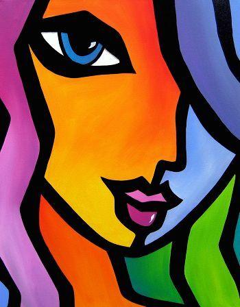Encontrado En Bing Desde Www Pinterest Com Rostros De Arte Pinturas Abstractas Arte En Lienzo