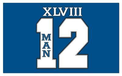 139c32a4db0 Seattle Seahawks 12th Man 3 x 5  NFL Flag