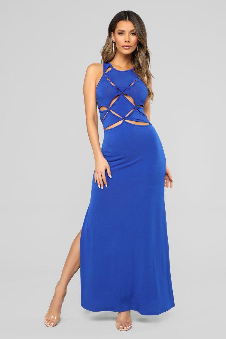Ageeba Beach Maxi Dress Royal Beach maxi dress