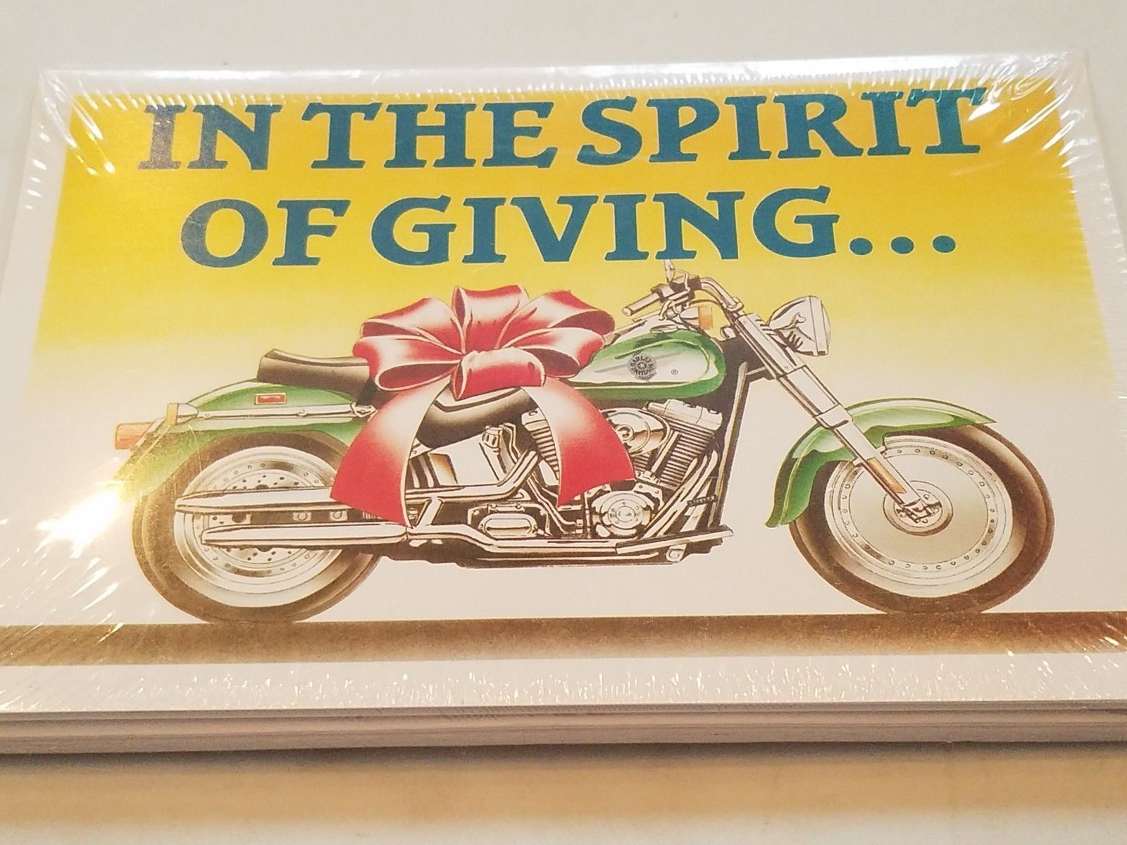Harley Davidson Christmas Cards #X609 Harley For Gift In Spirit Of ...