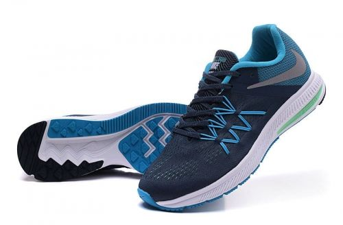 9758ddce5a986 Authentic Nike Zoom Winflo 3 Charcoal Grey Blue Lagoon White NIKE ZOOM  Winflo On Line