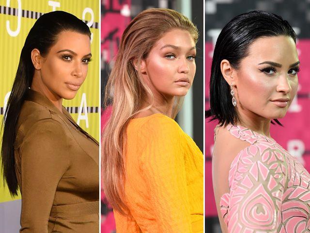 Kim, ditam tendência no VMA 2015  ||  Créditos: Getty Images