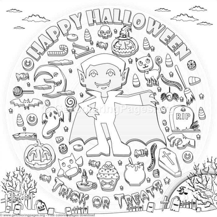 15 Happy Halloween Coloring Pages – GetColoringPages.org #coloring ...